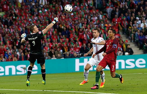 Khi Ronaldo 'cãi'