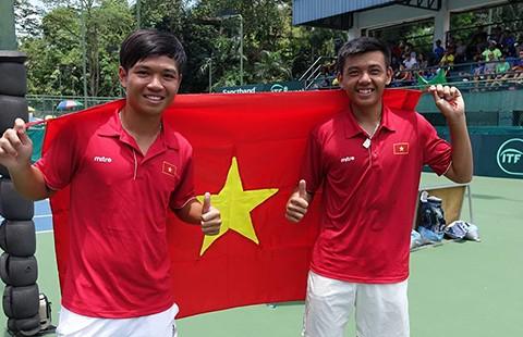 Lý Hoàng Nam làm 'đầu tàu' tại bán kết Davis Cup