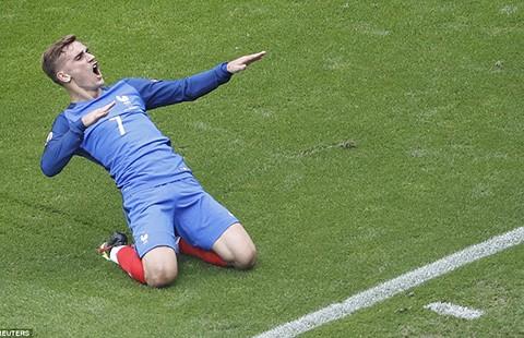Griezmann - người cứu rỗi đội tuyển Pháp