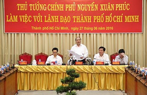 Thủ tướng cho phép TP.HCM thí điểm vấn đề mới phát sinh