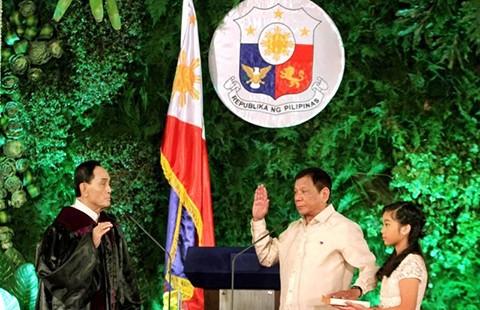 Trung Quốc chúc mừng tân tổng thống Philippines