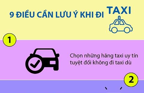 Làm sao thoát tay kẻ gian lái taxi?