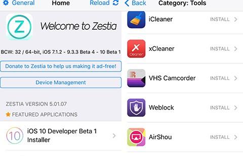 Cài ứng dụng hay cho iPhone mà không cần Jailbreak