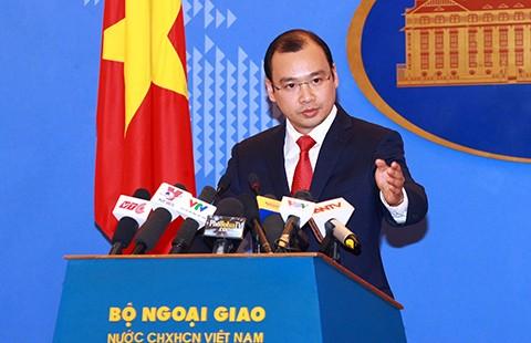 Việt Nam yêu cầu: TQ phải chấm dứt  xâm phạm chủ quyền