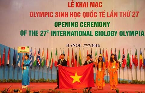 Khai mạc Olympic Sinh học quốc tế tại Hà Nội