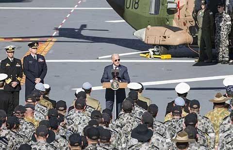 Mỹ tiếp tục bảo đảm an ninh biển Đông