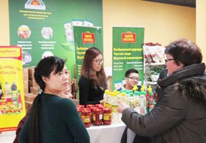 Nhiều hỗ trợ cho doanh nghiệp bán hàng Việt tại Nga