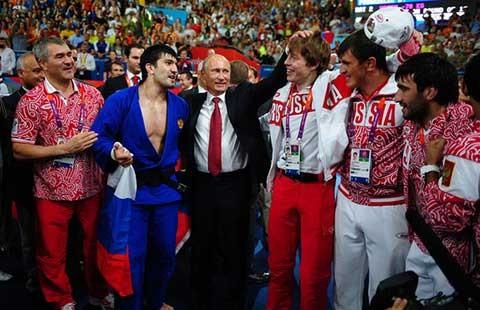 Tổng thống Putin trước đại dịch doping ở Nga