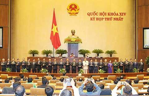 Quốc hội phê chuẩn 27 thành viên Chính phủ