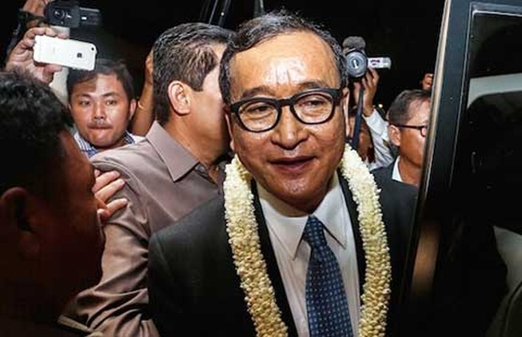 Ông Sam Rainsy nói xấu phải bồi thường