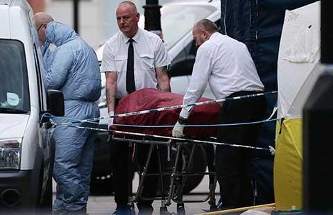 Vụ đâm dao ở London không có yếu tố khủng bố