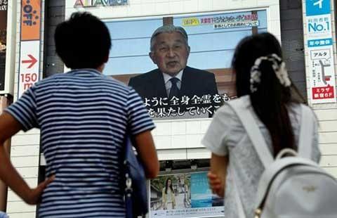 Nhật hoàng muốn thoái vị, hiến pháp Nhật phải được sửa đổi