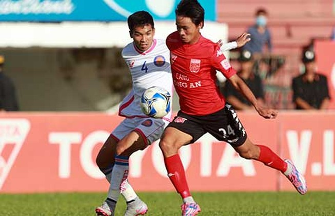 V-League, Long An - HA Gia Lai: Trốn xuống hạng!