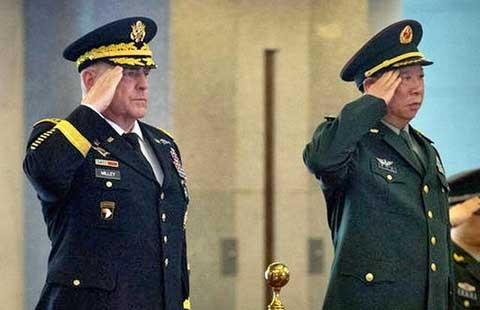 Tướng lục quân Mỹ sang Trung Quốc