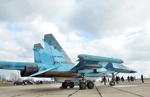 Lần đầu tiên, máy bay Nga cất cánh từ Iran tấn công IS