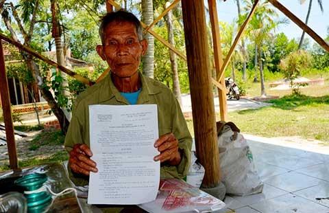 Xã nhận sai khi xử phạt chòi vịt ở Quảng Nam