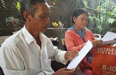 Phải minh oan cho 2 nông dân bị xử tội nhận hối lộ!