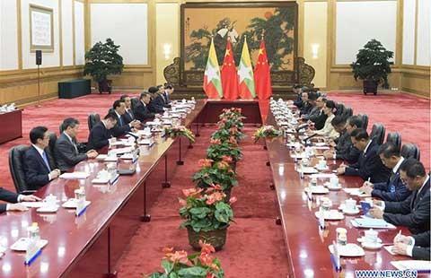 Myanmar khẳng định phát triển hơn nữa quan hệ với Trung Quốc