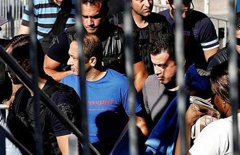 20.355 người đã bị giam giữ ở Thổ Nhĩ Kỳ