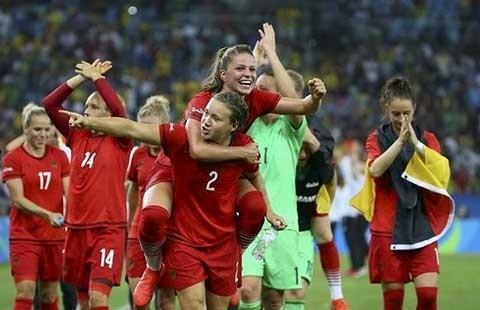 Bóng đá nữ Đức lần đầu vô địch Olympic