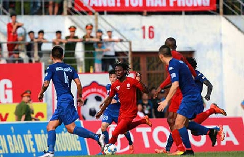 Vòng 22 Toyota V-League 2016: Thừa thắng xông lên