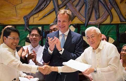 Thỏa thuận ngừng bắn vô thời hạn ở Philippines