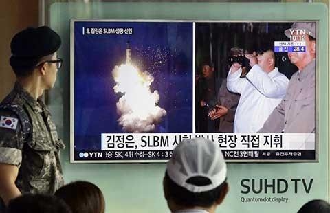 Mỹ-Hàn lo đối phó tàu ngầm Triều Tiên xâm nhập