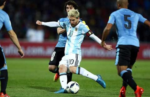 Argentina tiếp tục dẫn đầu khu vực Nam Mỹ với sự trở lại của Messi