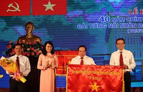 Bí thư Đinh La Thăng giao nhiệm vụ cho Đài Tiếng nói nhân dân TP.HCM