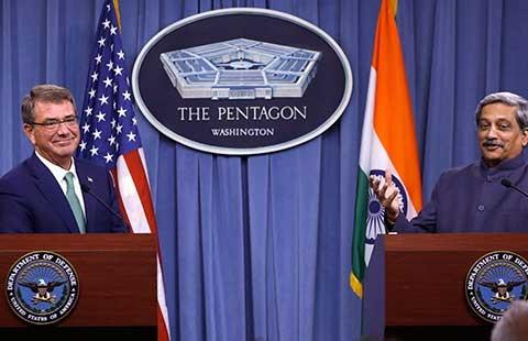 Mỹ và Ấn Độ liên kết hậu cần