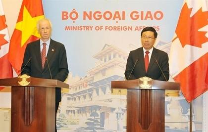 Hợp tác thương mại là trọng tâm quan hệ Việt Nam - Canada
