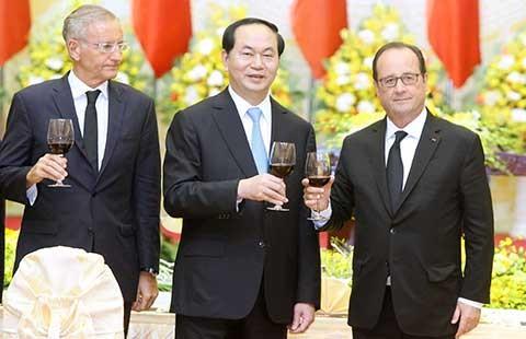 Việt-Pháp khẳng định nguyên tắc thượng tôn pháp luật trên các vùng biển