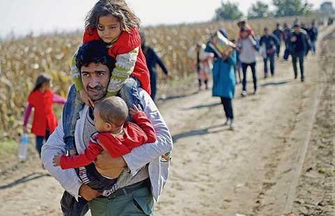 UNICEF cảnh báo 50% số người tị nạn là trẻ em