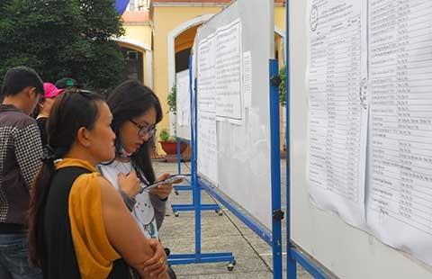 Trường, thí sinh bị động vì phương án thi mới