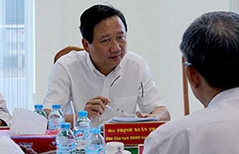 Phải xử lý rốt ráo vụ ông Trịnh Xuân Thanh