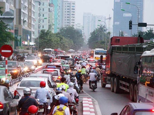 Chưa có đề xuất cấm xe máy ở Hà Nội