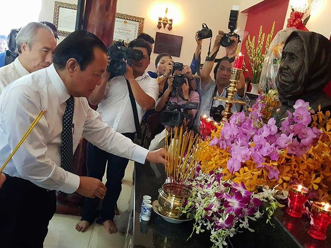 Khánh thành nhà tưởng niệm Bà mẹ VNAH Nguyễn Thị Rành