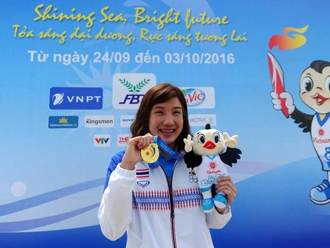 ABG5 2016: Thái Lan và Kazakhstan đoạt HCV đầu tiên