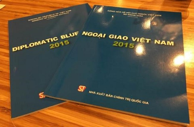 Lần đầu công bố Sách Xanh ngoại giao Việt Nam