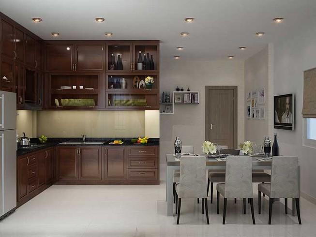Nhà bếp đẹp khiến người ta ăn nhiều