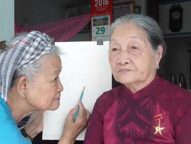 Chạy đua vẽ các mẹ anh hùng