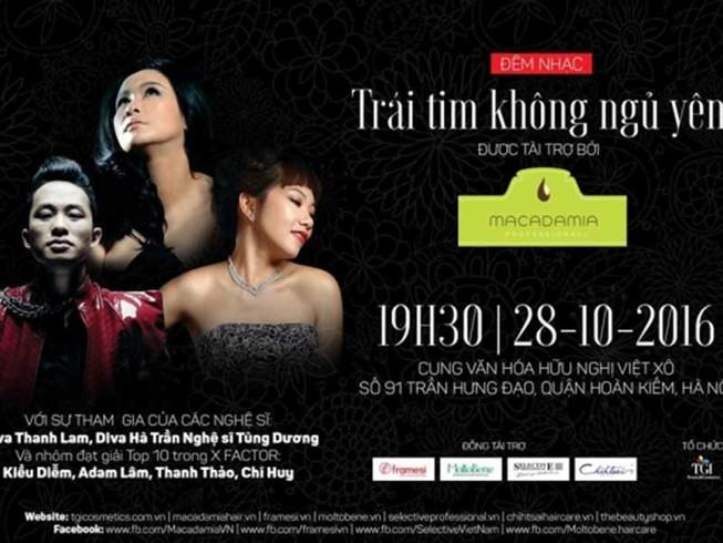 Mạnh thường quân mua trọn vé đêm nhạc Thanh Tùng