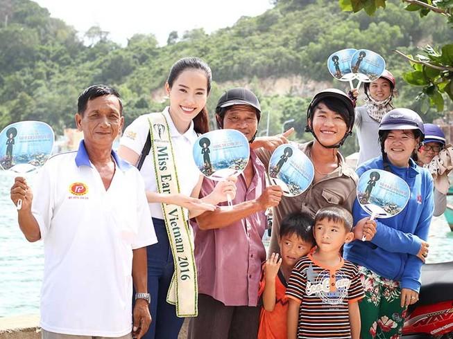 Hoa khôi Nam Em đưa đảo Nam Du ra thế giới