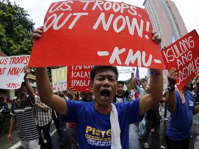 Philippines khẳng định hoãn tuần tra,tập trận với Mỹ