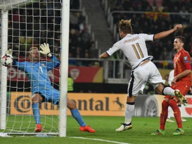 Vòng loại World Cup 2018: Ý suýt ôm hận