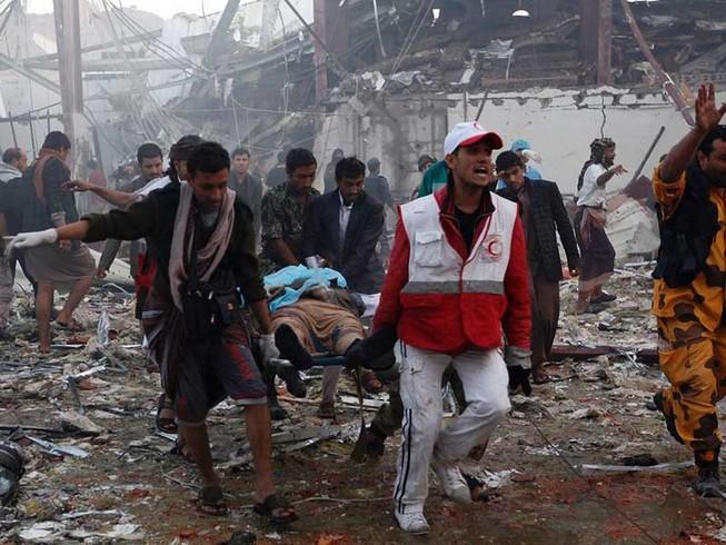 Liên quân Ả Rập bị nghi không kích ở Yemen