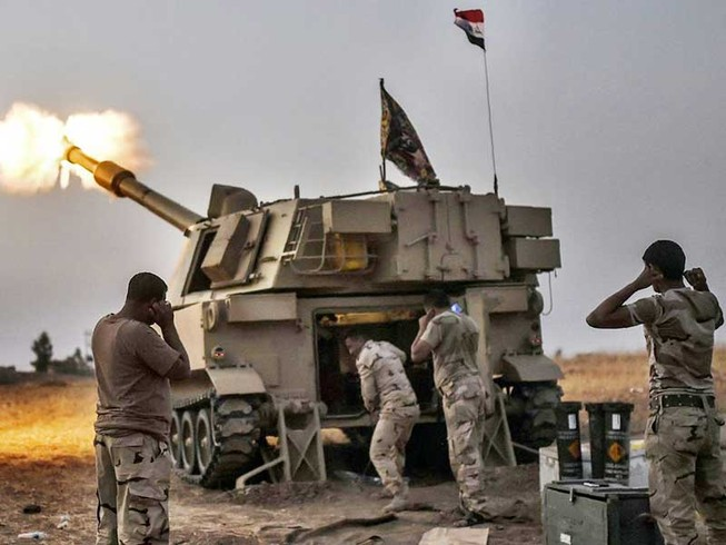 Bọn đầu sỏ IS đã nhanh chân tháo chạy khỏi TP Mosul