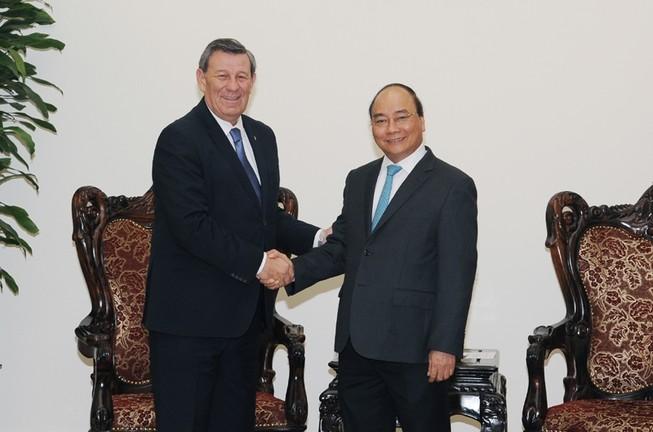 Xúc tiến ký hiệp định FTA iệt Nam - Đông Uruguay