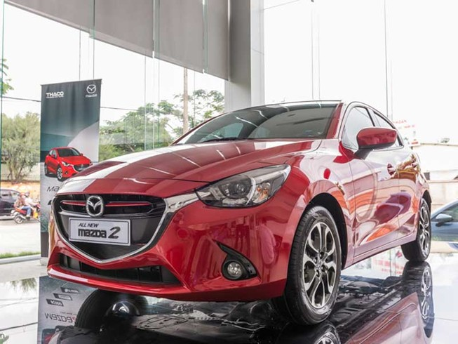 Hàng loạt xe Mazda 2 All New bị triệu hồi ở Việt Nam