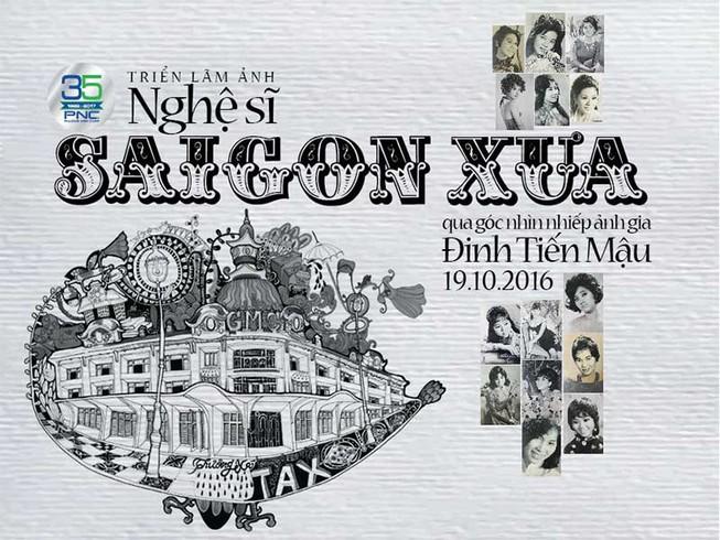 Đến đường sách xem ảnh nghệ sĩ Sài Gòn xưa